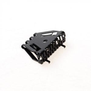 Bijenbekje Stootvoegroosters Antraciet RVS 50mm